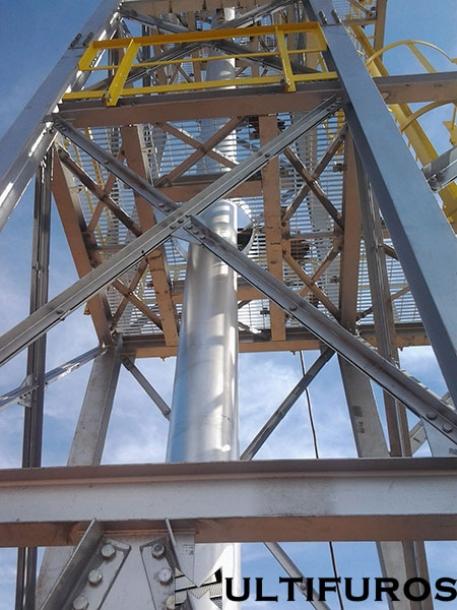 Grades de Piso para Plataformas Industriais e Petrolificas